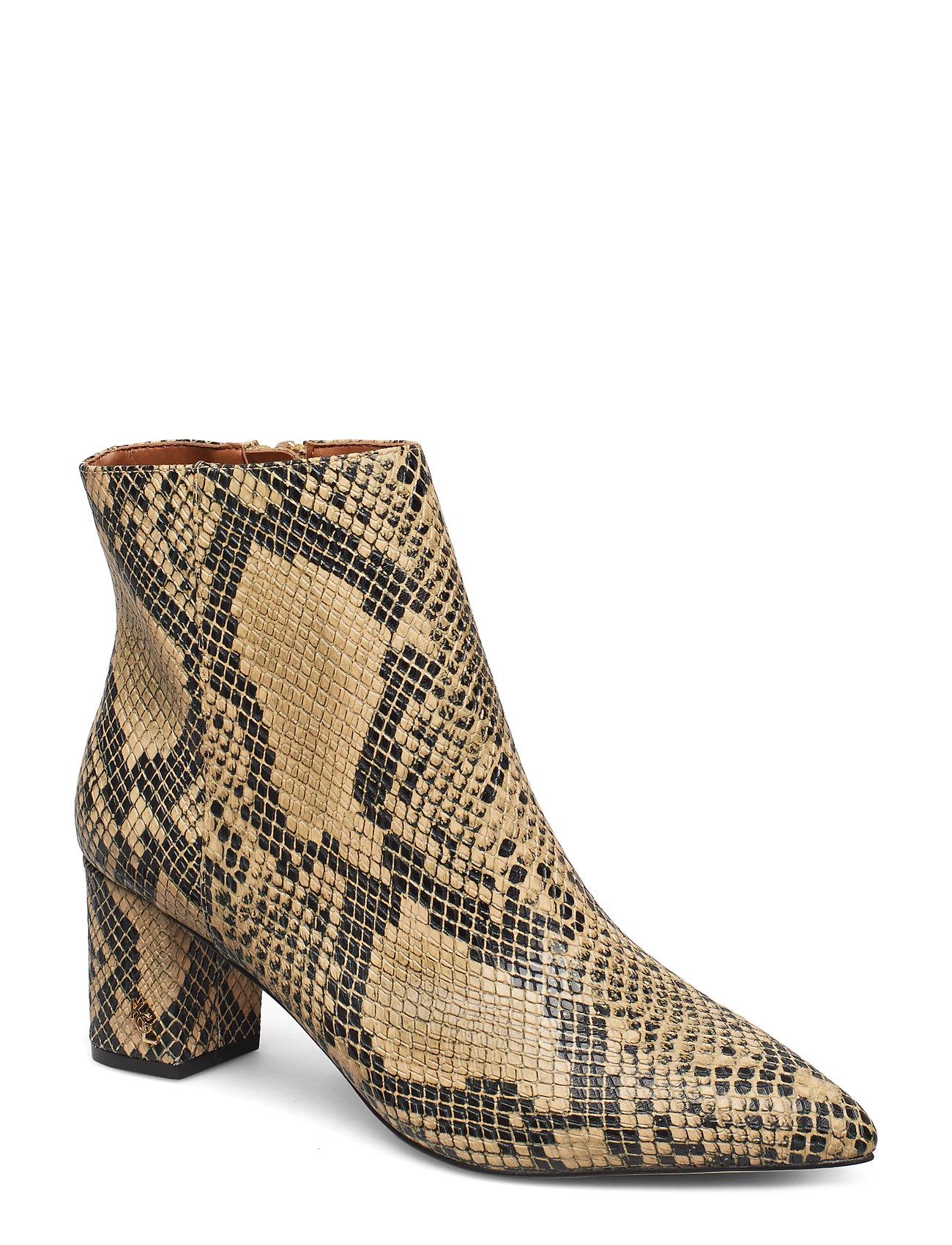 Image of Burlington Ankle Boot Shoes Boots Ankle Boots Ankle Boot - Heel Beige Kurt Geiger London (3406232729)