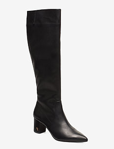 BURLINGTON KNEE BOOT - BLACK