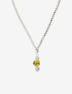 La Chance Long Zodiac Necklace Silver - dainty necklaces - dragon