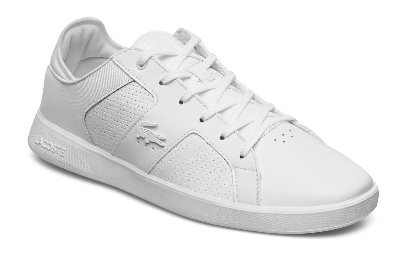 Lacoste Shoes NOVAS 120 3 SMA - WHT/WHT LTH/SYN