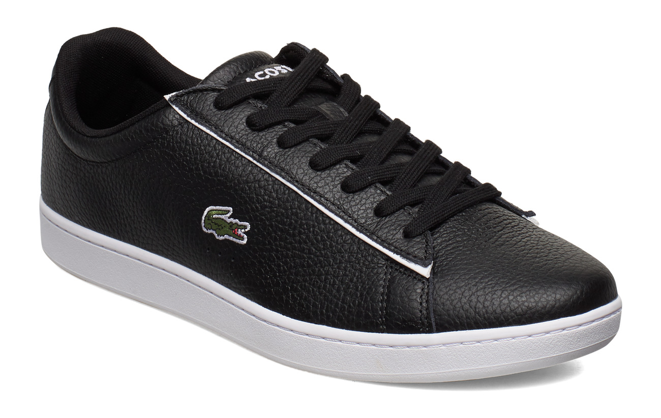 Lacoste Shoes CARNABY EVO 1202SMA - BLK/WHT LTH/SYN