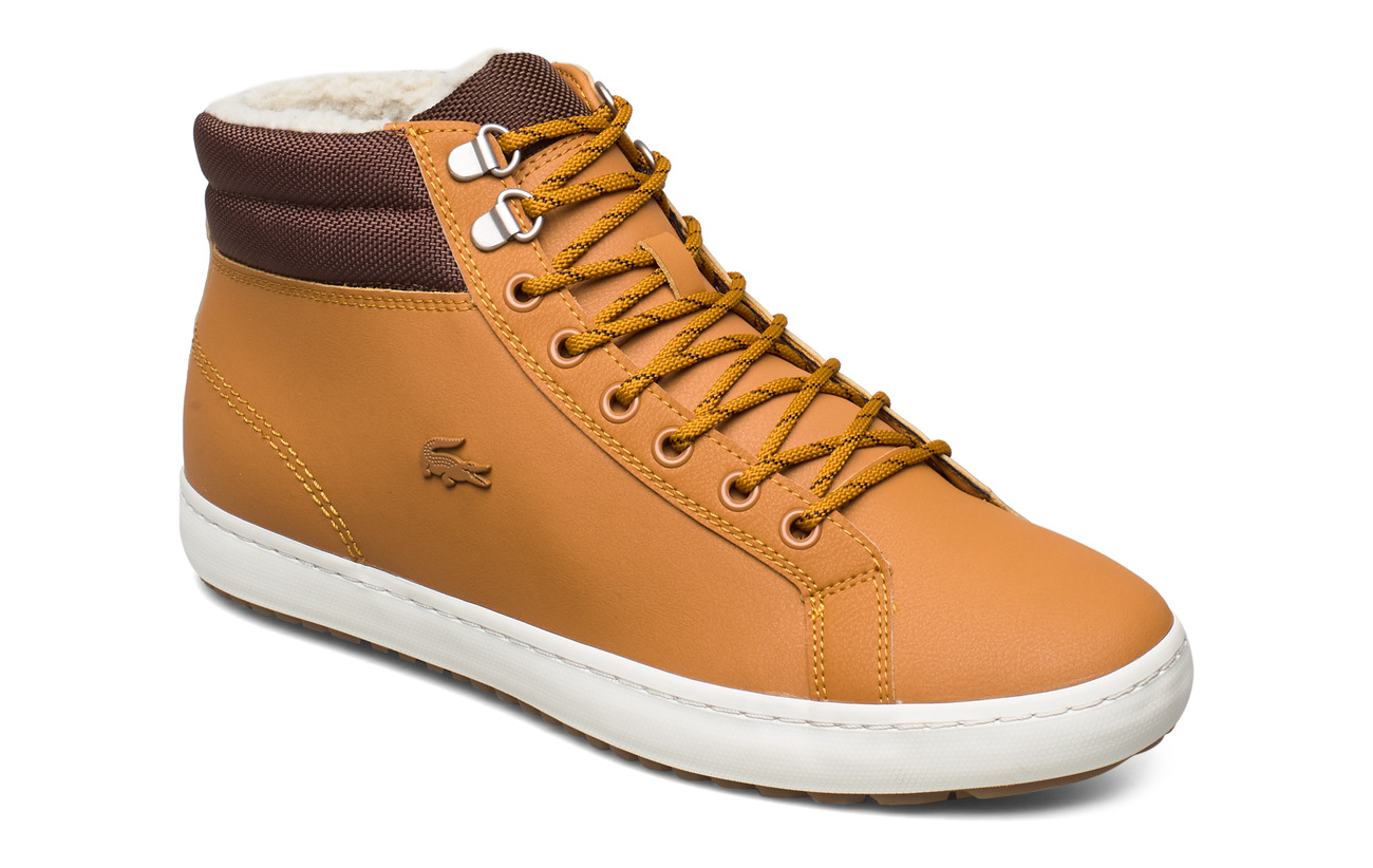 Lacoste Shoes STRGHTSETHERM4191CMA - TAN/BRW LTH