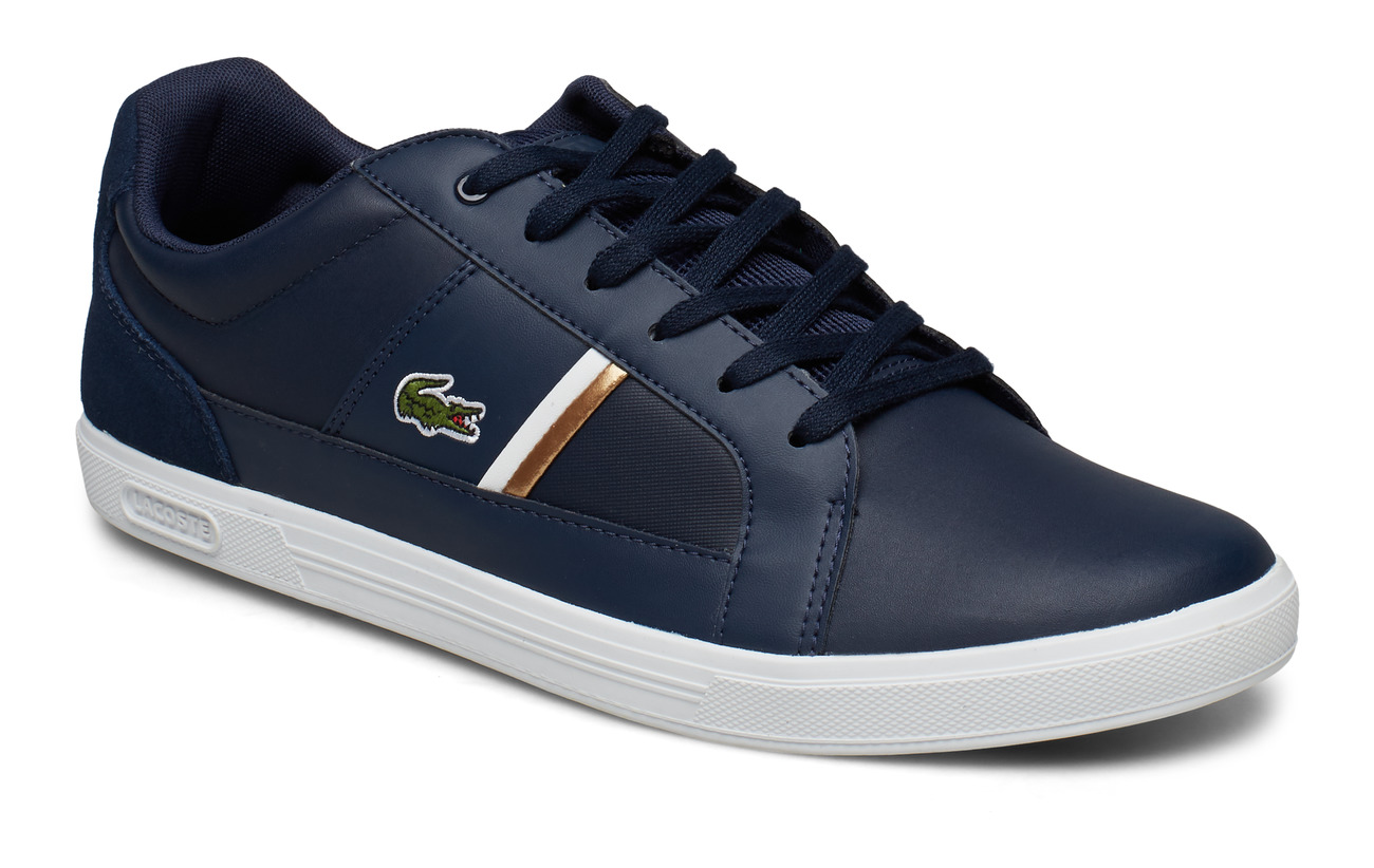 Lacoste Shoes EUROPA 319 1 SMA - NVY/WHT LTH/TXT