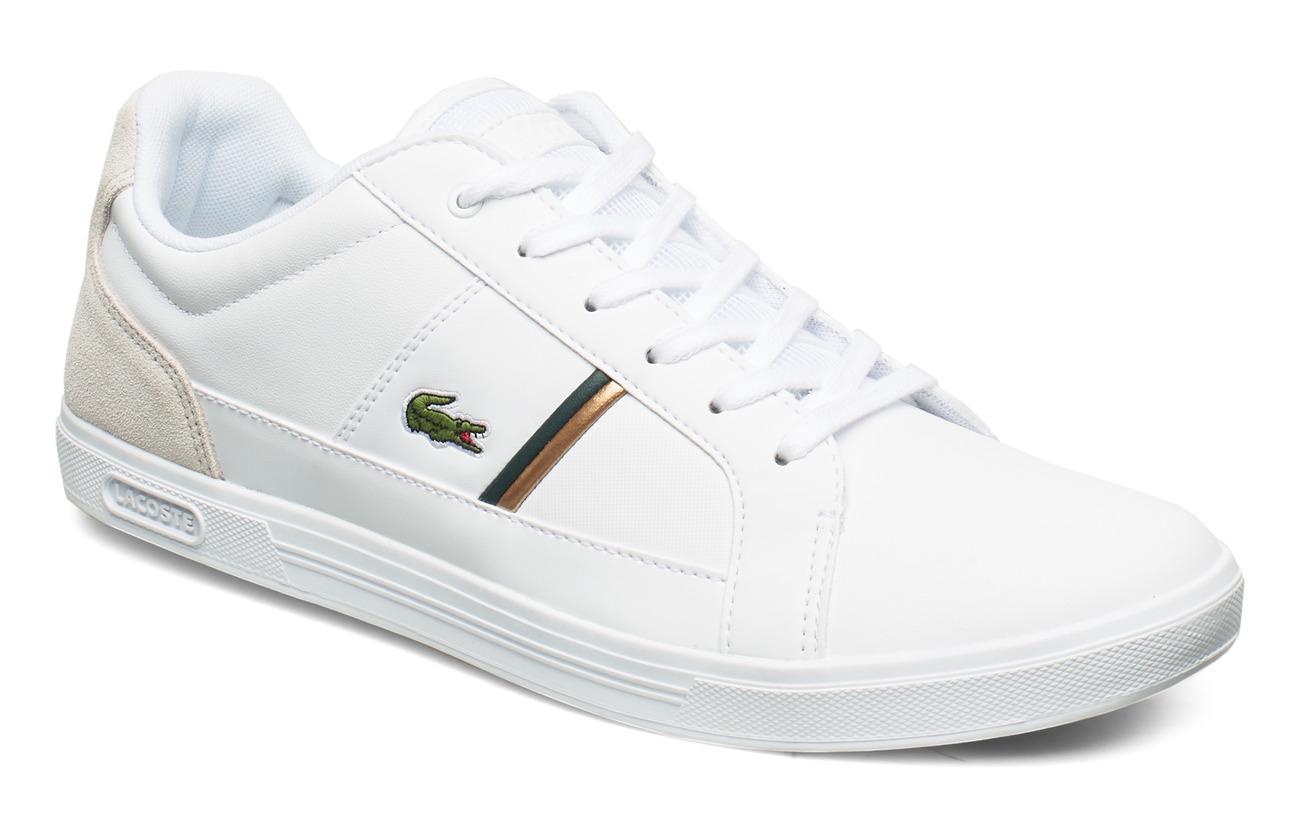 Lacoste Shoes EUROPA 319 1 SMA - WHT/DK GRN LTH/TXT