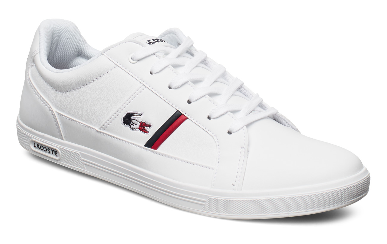 Lacoste Shoes EUROPA TRI1 SMA - WHT/NVY/RED LTH