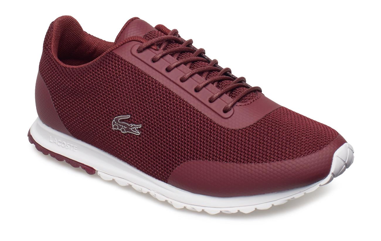 a0d7ed2f44b60 Helaine Runner 418 1 (Burg wht Txt) (£93) - Lacoste Shoes -