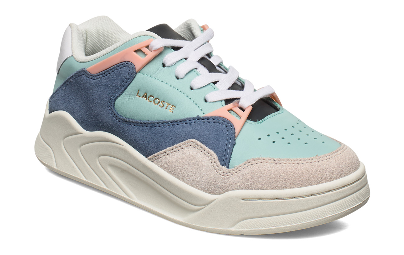 Lacoste Shoes COURTSLAM 1204USSFA - LT GRN/O WHT LTH/SDE