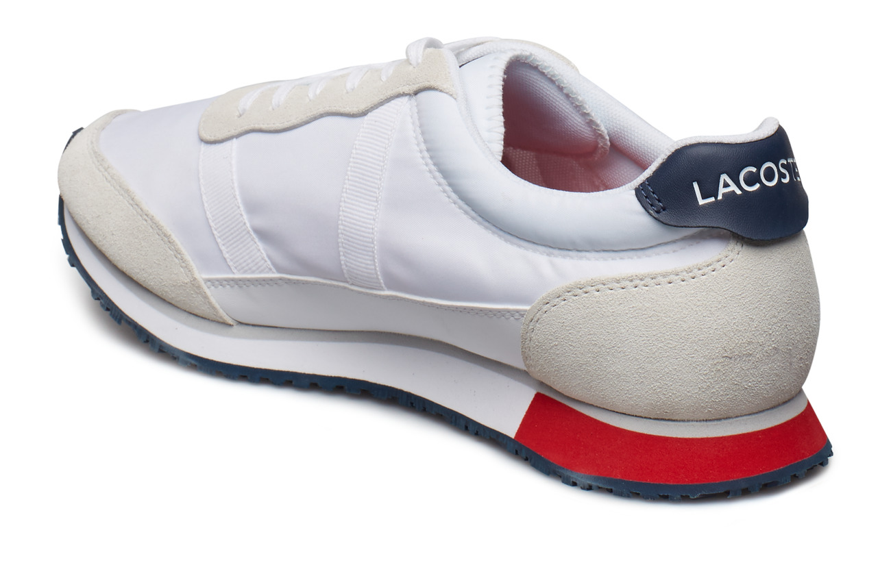 nvy 1 Partner Smawht TxtLacoste red Shoes 119 WH9YbD2eEI