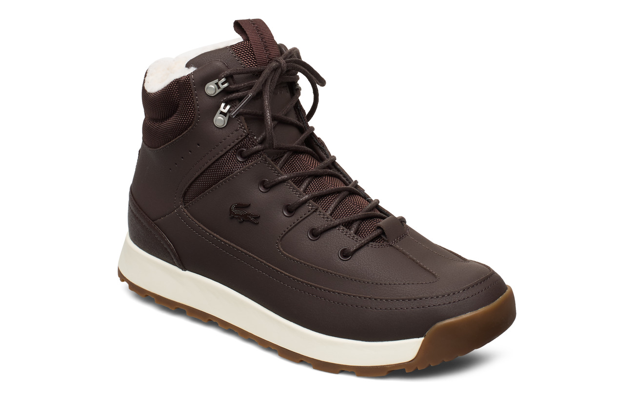 Lacoste Shoes URBAN BREAKER4191CMA - DK BRW/OFF WHT LTH