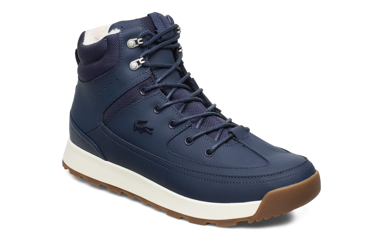 Lacoste Shoes URBAN BREAKER4191CMA - NVY/OFF WHT LTH