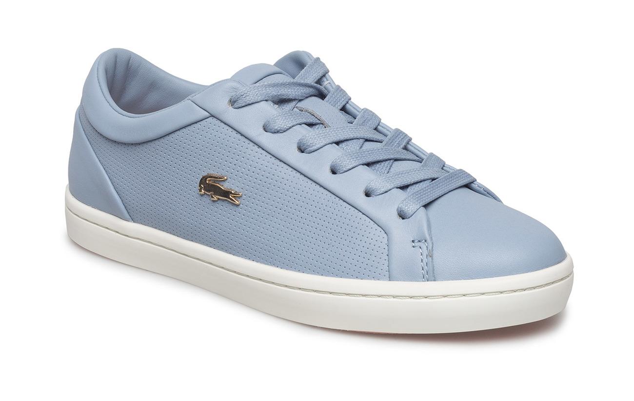 29af39b74529b Straightset 118 2 (Lt Blu pnk Lth) (£67) - Lacoste Shoes -