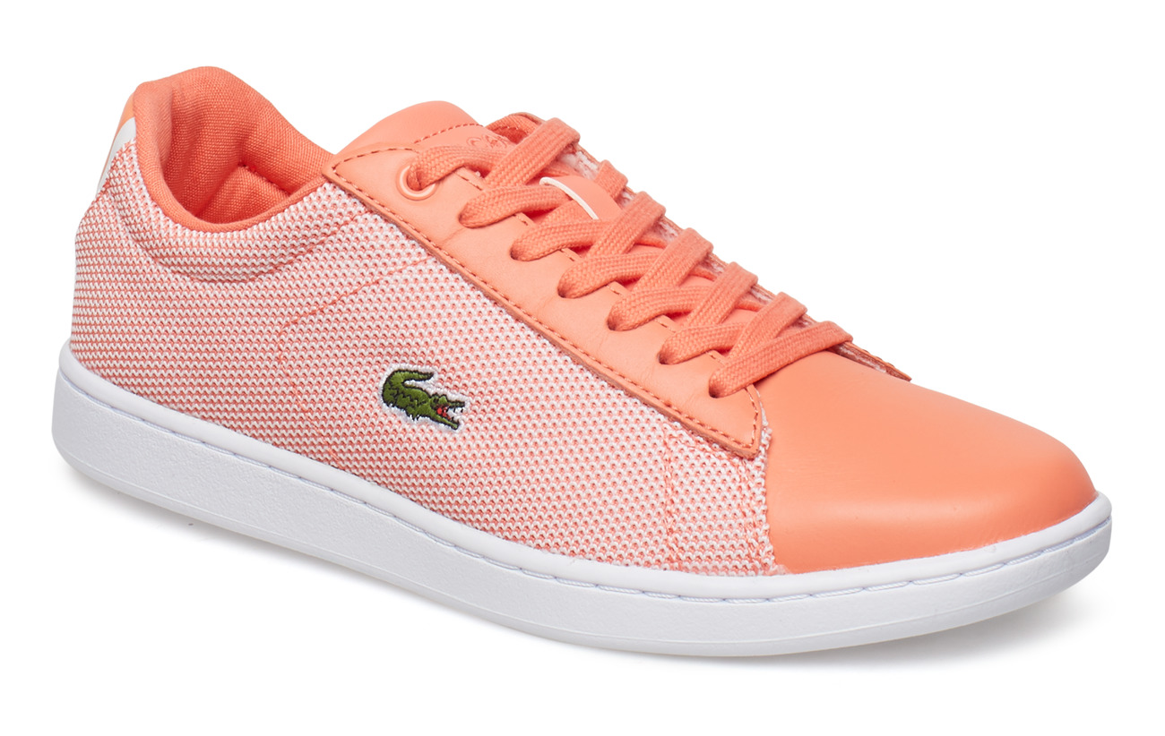 4b3a68867 Carnaby Evo 117 1 (Lt Org wht Txt lth) (£54.50) - Lacoste Shoes ...