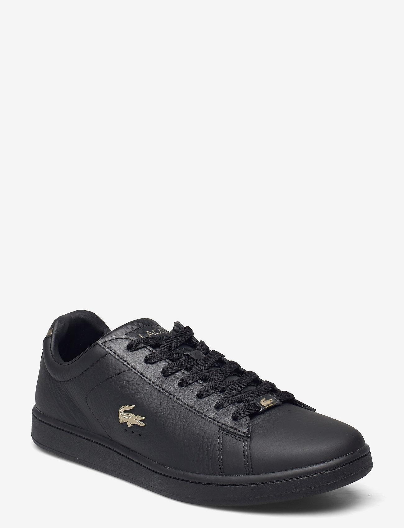 Lacoste Shoes - DESTON PUT - low tops - blk/blk lthr - 0