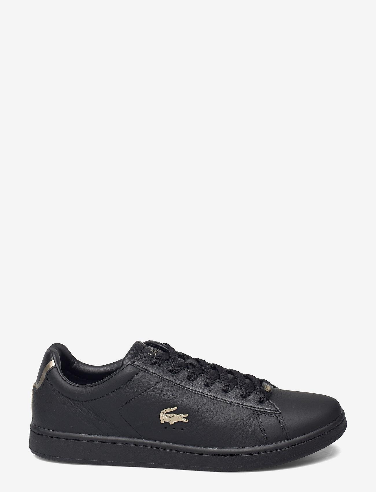 Lacoste Shoes - DESTON PUT - low tops - blk/blk lthr - 1