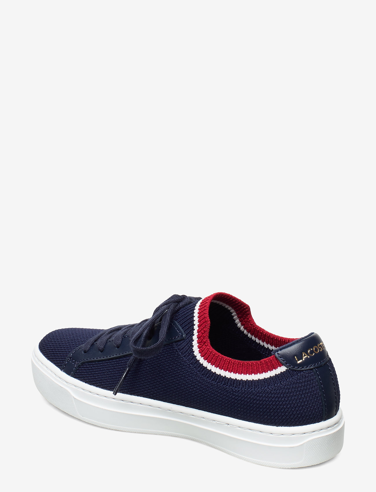 La Pique 119 1 Cfa (Nvy/wht/red Txt) - Lacoste Shoes