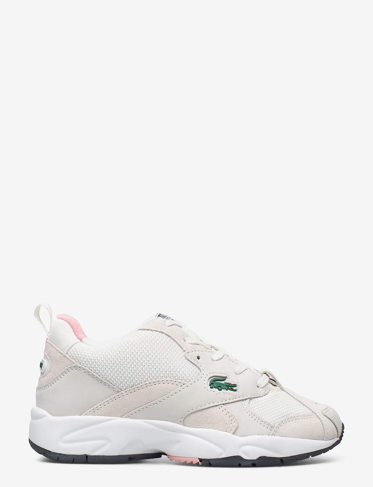 Lacoste Shoes - STORM 96 1203 USSFA - lage sneakers - owht/pnk txt/sde/nbk - 1