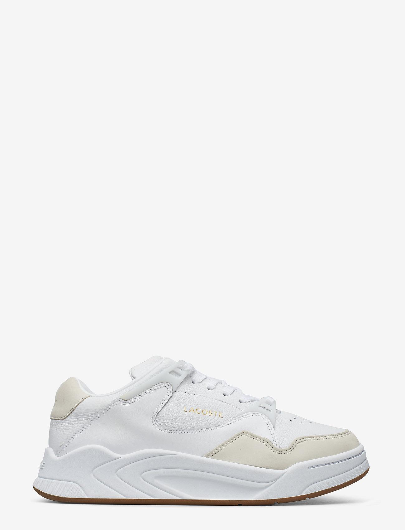 Lacoste Shoes - COURT SLAM 319 1 SMA - matalavartiset tennarit - wht/gum lth