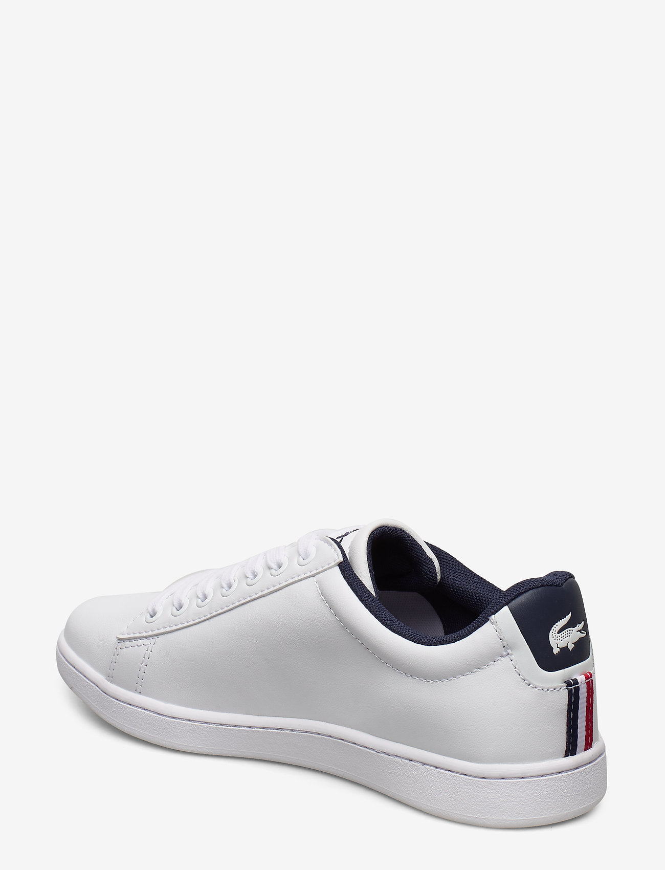 Carnaby Evo Tri 1sfa (Wht/nvy/red Lth/syn) - Lacoste Shoes