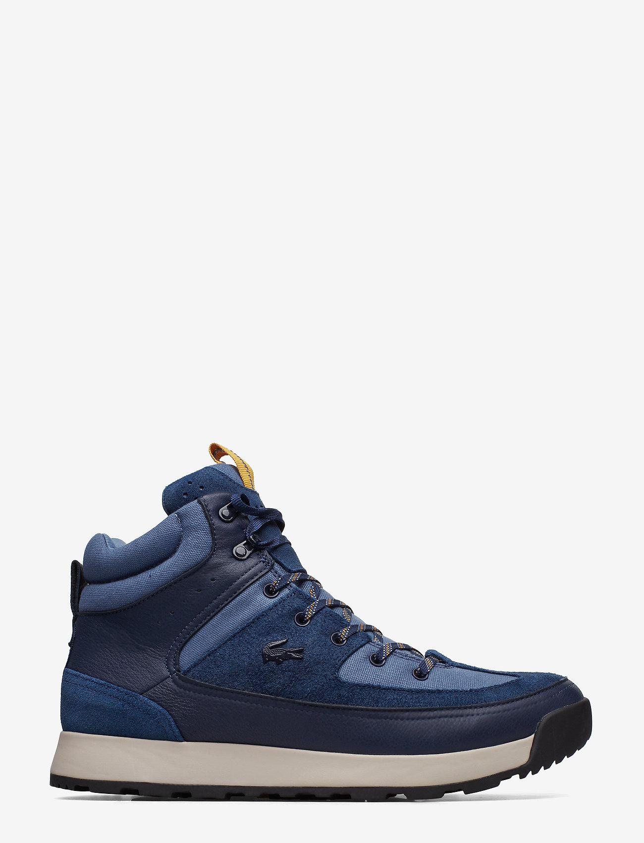 Lacoste Shoes - URBAN BREAKER3191CMA - korkeavartiset tennarit - nvy/dk blu lth