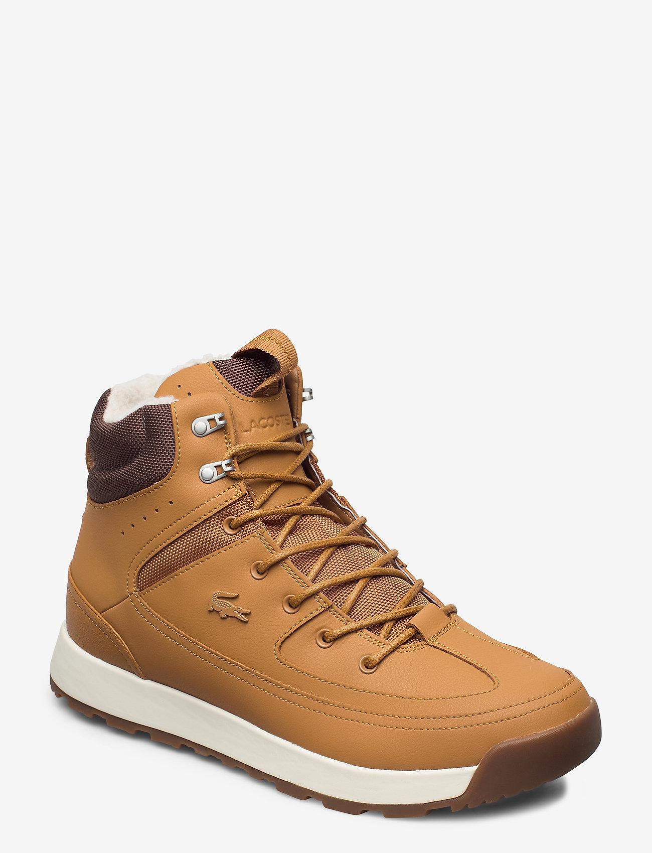 lacoste tan shoes