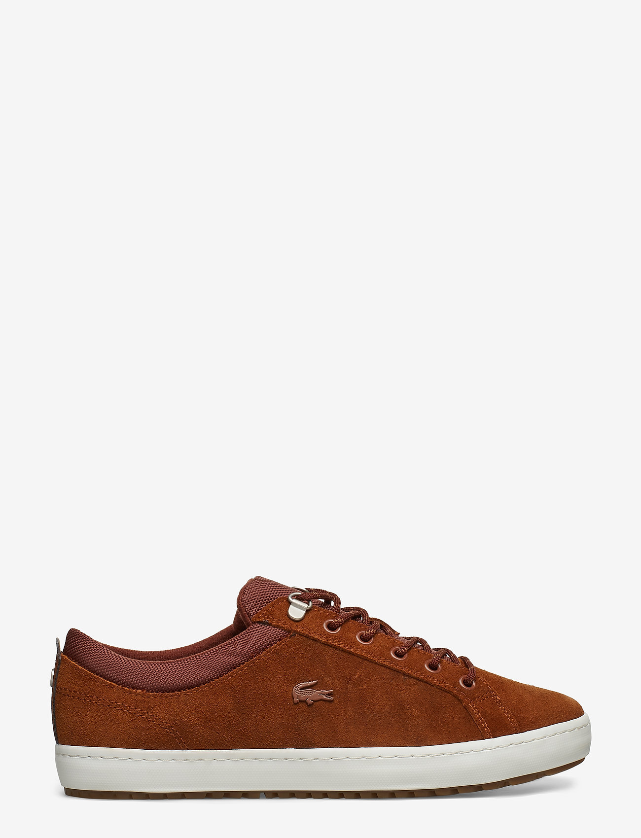 Lacoste Shoes - STRGHTSETINSU3191CMA - matalavartiset tennarit - brw/off wht lth