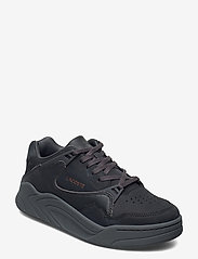 Lacoste Shoes - COURT SLAM 419 1 SFA - lage sneakers - dk gry/dk gry lth - 0