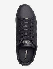 Lacoste Shoes - DESTON PUT - low tops - blk/blk lthr - 3