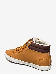 Lacoste Shoes - STRGHTSETHERM4191CMA - korkeavartiset tennarit - tan/brw lth - 2