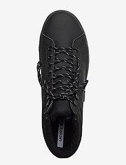 Lacoste Shoes - STRGHTSETHERM4192CMA - korkeavartiset tennarit - blk/blk lth - 2