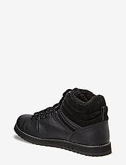 Lacoste Shoes - JARMUND PUT - ar paaugstinātu potītes daļu - blk/blk lth/syn - 3
