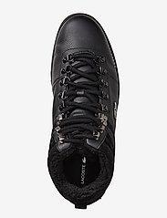 Lacoste Shoes - JARMUND PUT - ar paaugstinātu potītes daļu - blk/blk lth/syn - 5