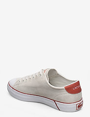 Lacoste Shoes - GRIPSHOT 120 1 CMA - przed kostkę - off wht/org sde - 2