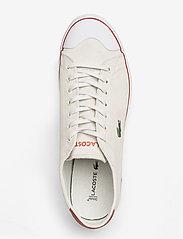 Lacoste Shoes - GRIPSHOT 120 1 CMA - przed kostkę - off wht/org sde - 3