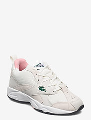 Lacoste Shoes - STORM 96 1203 USSFA - lage sneakers - owht/pnk txt/sde/nbk - 0