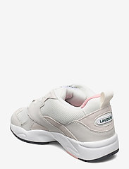 Lacoste Shoes - STORM 96 1203 USSFA - lage sneakers - owht/pnk txt/sde/nbk - 2