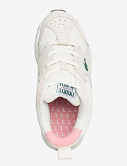 Lacoste Shoes - STORM 96 1203 USSFA - lage sneakers - owht/pnk txt/sde/nbk - 3