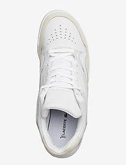 Lacoste Shoes - COURT SLAM 319 1 SMA - matalavartiset tennarit - wht/gum lth - 3