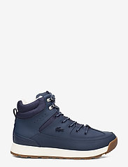 Lacoste Shoes - URBAN BREAKER4191CMA - korkeavartiset tennarit - nvy/off wht lth - 1