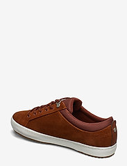 Lacoste Shoes - STRGHTSETINSU3191CMA - matalavartiset tennarit - brw/off wht lth - 2