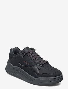 COURT SLAM 419 1 SFA - lage sneakers - dk gry/dk gry lth