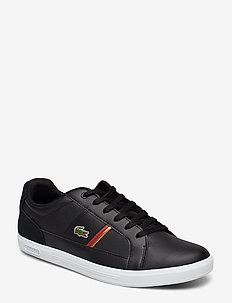 EUROPA 319 1 SMA - BLK/RED LTH/TXT
