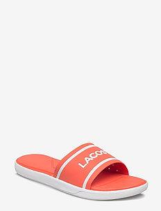 L.30 SLIDE 118 1 - platte sandalen - pnk/wht syn