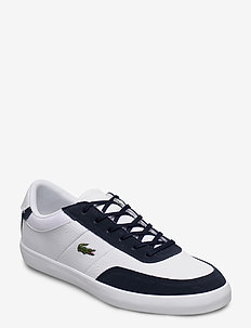 COURTMASTER 1203 CMA - WHT/NVY LTH/SYN