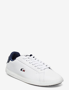 GRADUATE TRI 1 SFA - niedrige sneakers - wht/nvy/red lth/syn