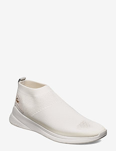 LT FIT SOCK 1202 SMA - chaussures slip-ons - o wht/o wht txt/sde