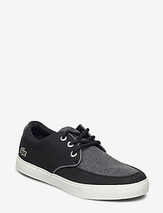 Sevrin 416 1 - sneakers - blk/dk gry /cnv/txt