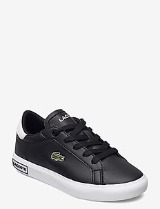 POWERCOURT 0721 1 SU - low-top sneakers - blk/wht synthetic
