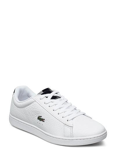 Carnaby Evo 2201sfa Niedrige Sneaker Weiß LACOSTE SHOES