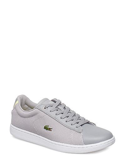 Carnaby Evo 117 1 Niedrige Sneaker Grau LACOSTE SHOES