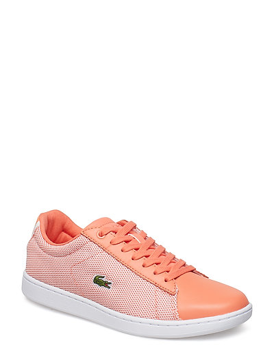 Carnaby Evo 117 1 Niedrige Sneaker Orange LACOSTE SHOES